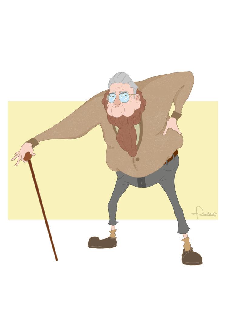 Character Design Old Man : Old man character design by giulianopietro on deviantart