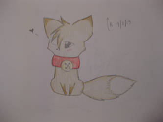 Adorable Fox by Lunerfite
