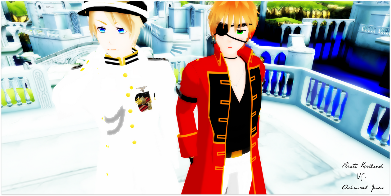 Admiral Jones and Pirate Kirkland is waiting 4 you by 0xWhaii