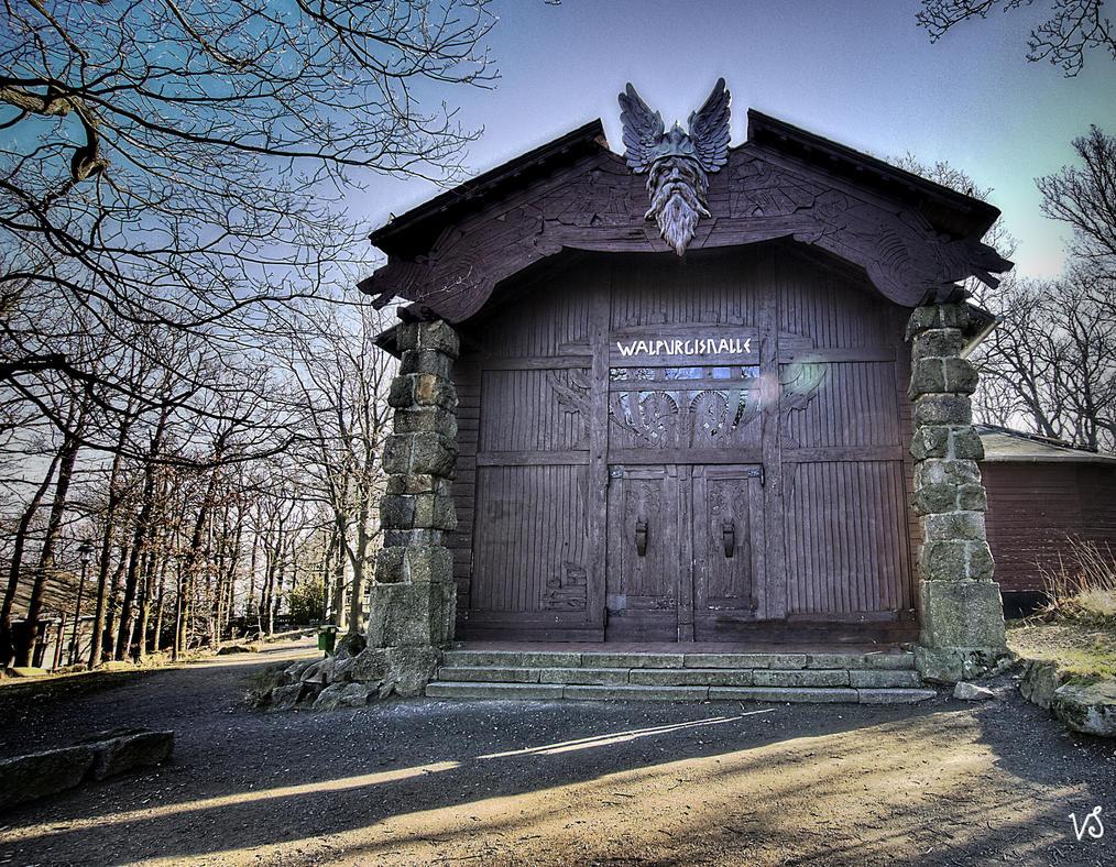 Walpurgishalle  -  (Wotans hall) by Capricornus60