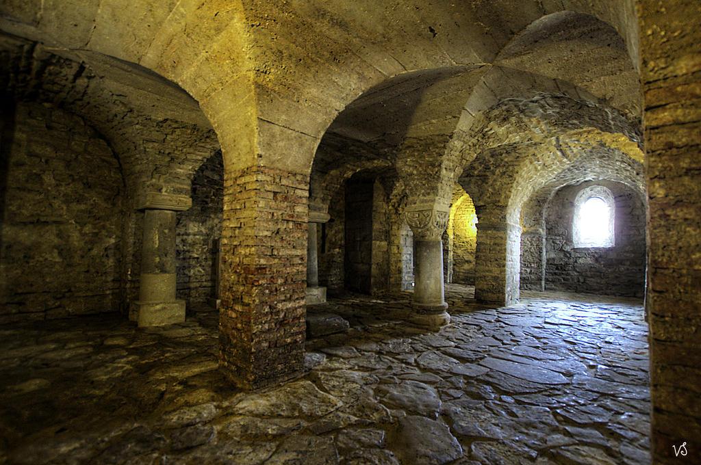 Krypta - Kloster Drubeck   scal. by Capricornus60