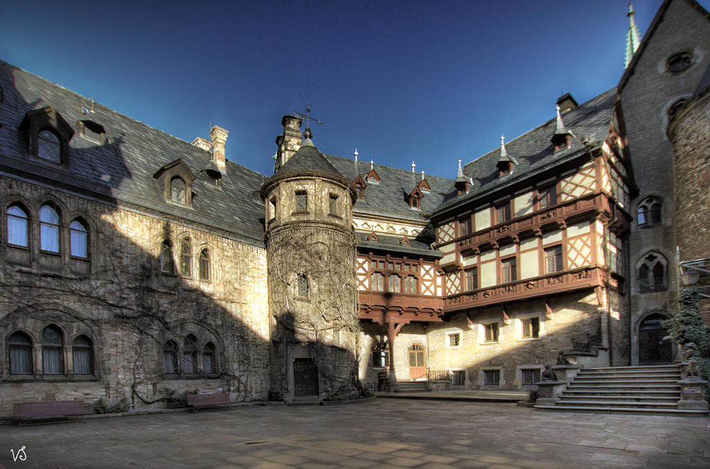Wernigerode  -  Schlosshof  scal. by Capricornus60
