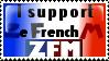 ZeFrenchM Supporter stamp by uberluigi28