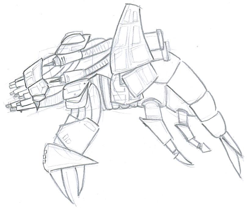 Basilisk War Droid by Ajix
