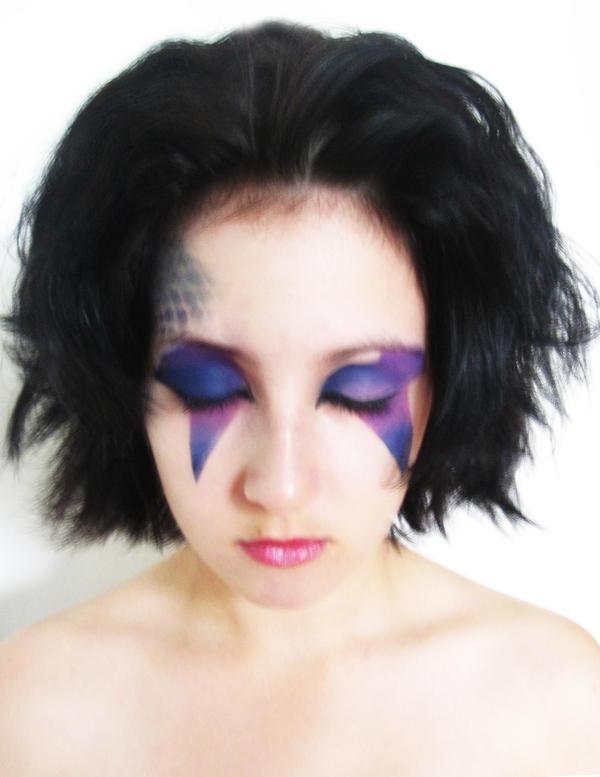 David Bowie Fan Makeup 2 by FlowerGirl95 on DeviantArt