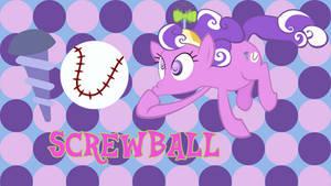 Screwball wallpaper