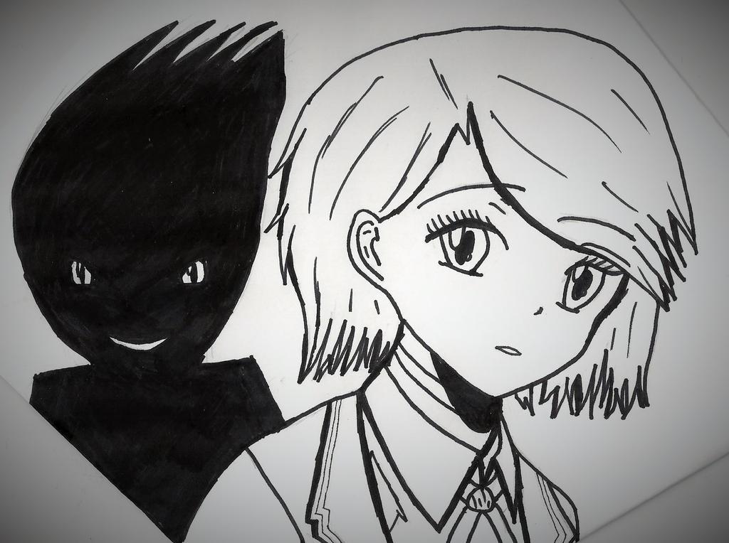 Madoka and Drake's silhouette by StarlightSwordswoman on ...