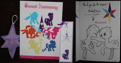 Sweet Harmony + Bookmark + Talisman