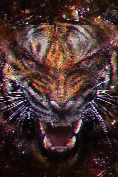 iphone 4s tiger wallpaper hd by frzhdzn on deviantart