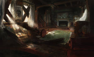 abandoned house by Timkongart