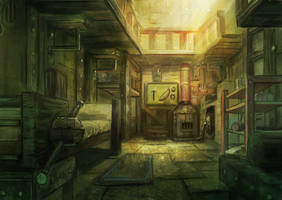 home interior by Timkongart