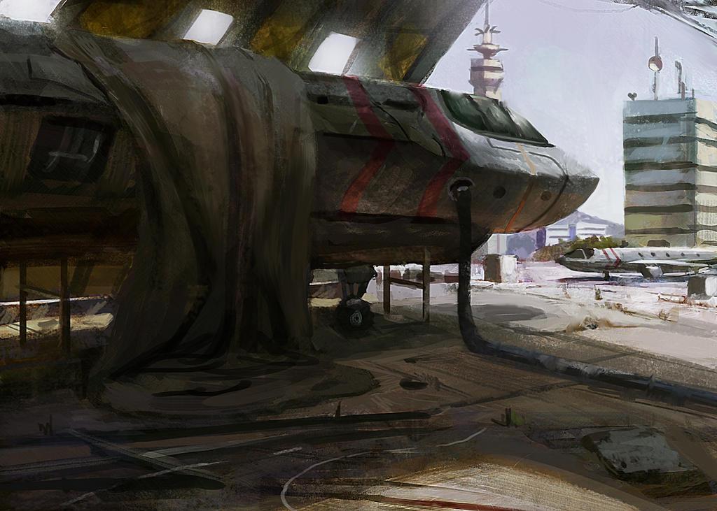 hangar 1 by Timkongart