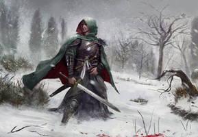 Blizzard warrior by Timkongart