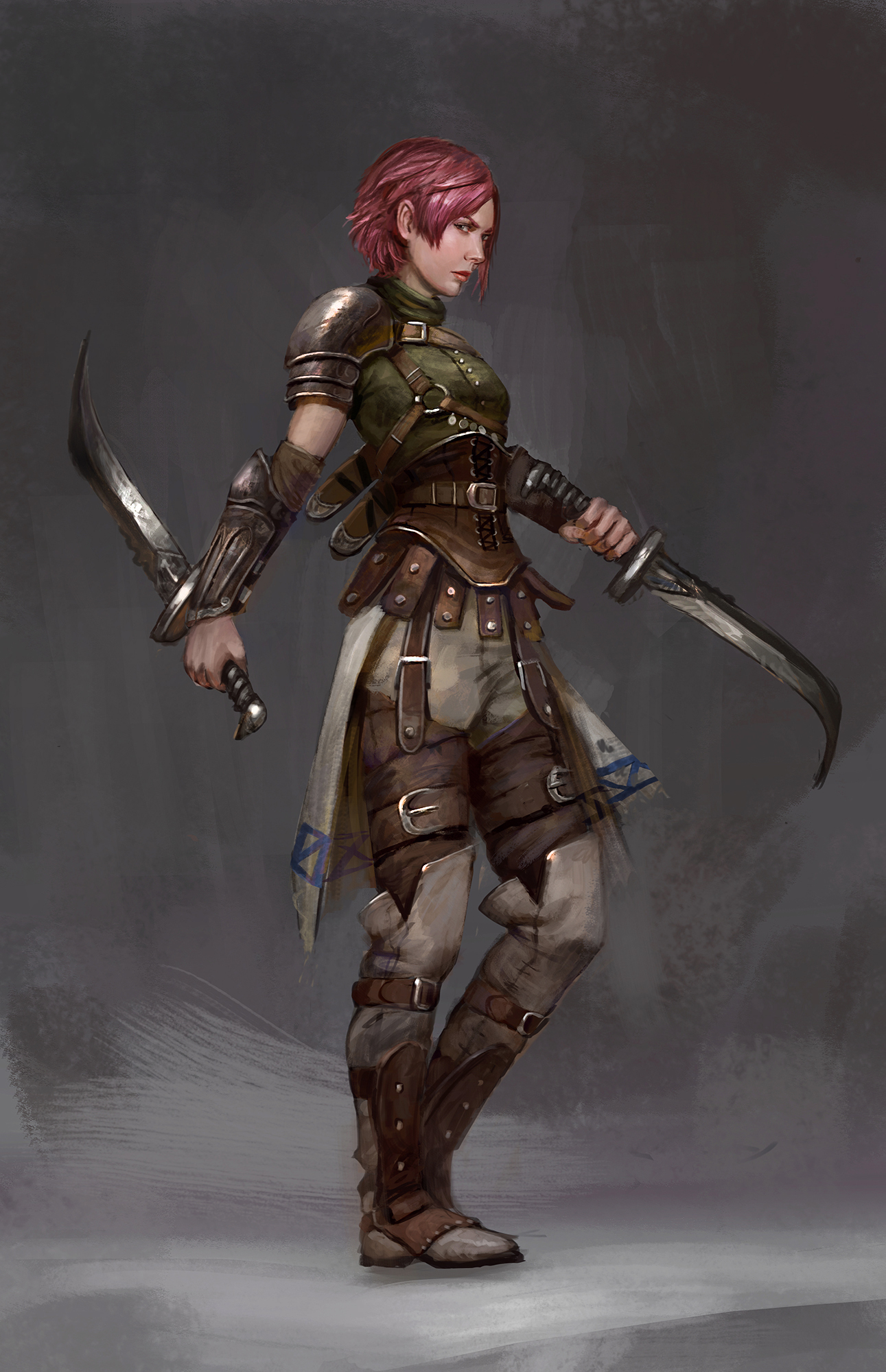 Assassin rogue by Timkongart