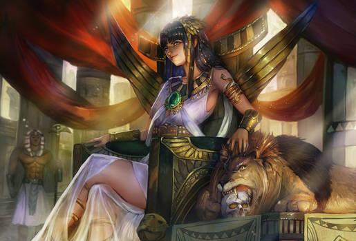 The Empress's companion