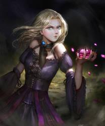 Goth girl V2 by Timkongart