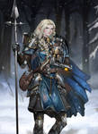DnD character commission  High elf cleric