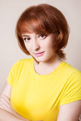 April O'Neil make-up test