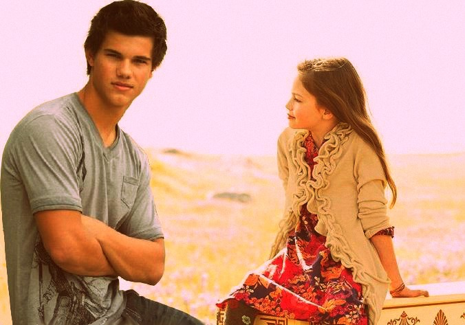 jacob black and renesmee cullen - 676×473