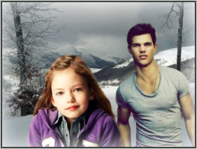 Pics For > Jacob Black And Renesmee Cullen Married
