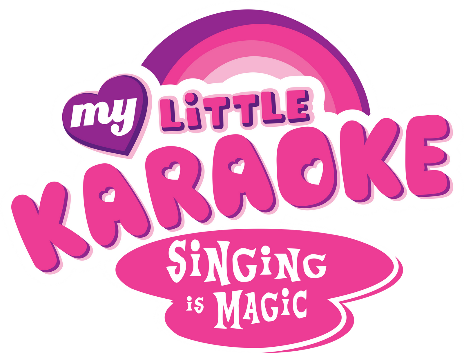 My Little Karaoke Logo By Psychicwalnut On Deviantart