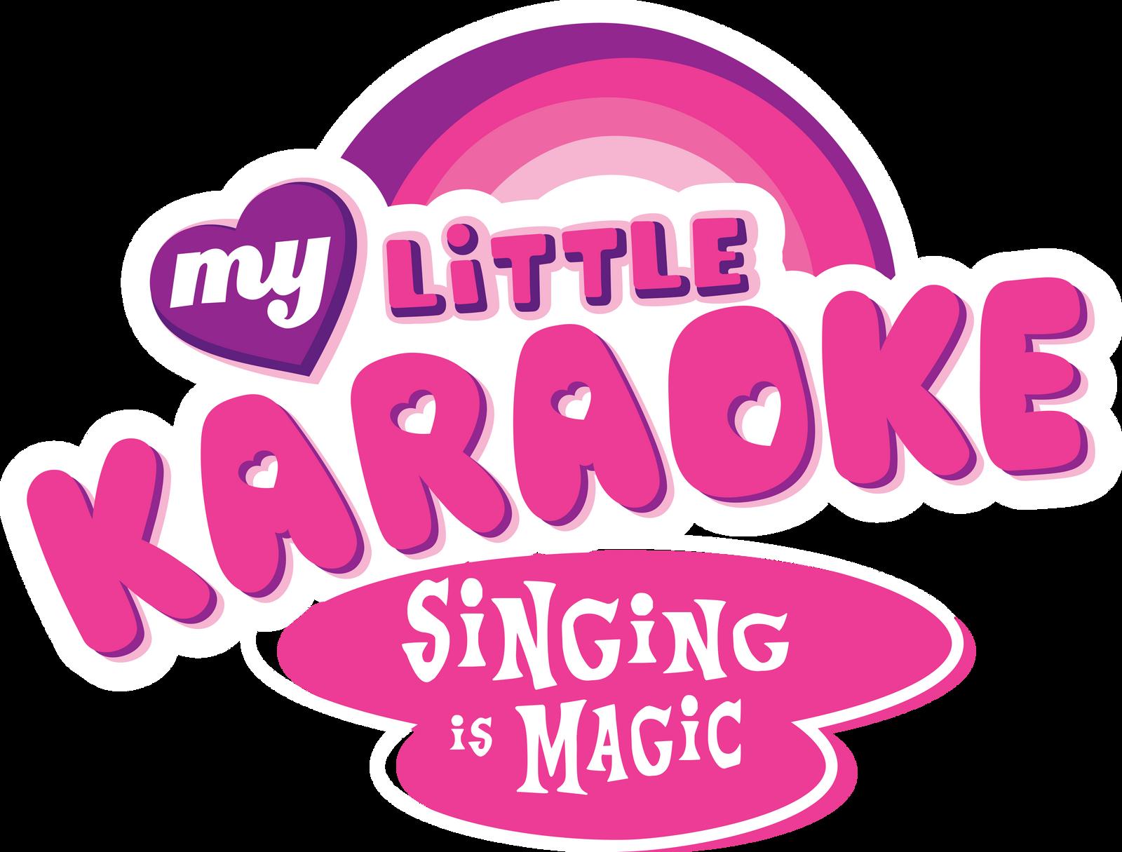 My Little Karaoke Logo by PsychicWalnut