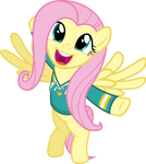 Fluttershy Finds the Music