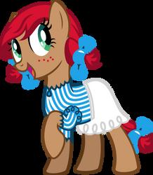 Crimson Locks - Wendy'sCon OC by PsychicWalnut