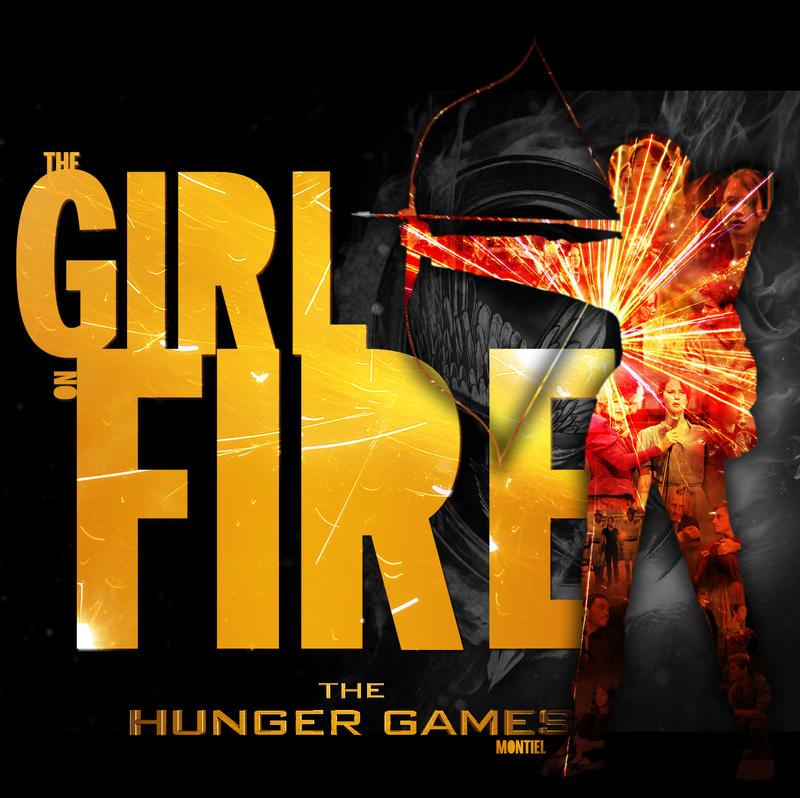 Girl On Fire by Luis-Montiel