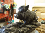 Woodcarver Wildboar 1a