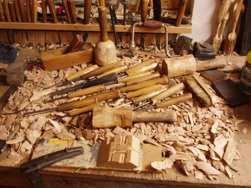 Woodcarver tools by woodcarve on DeviantArt