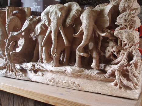 Elephants in progress 7