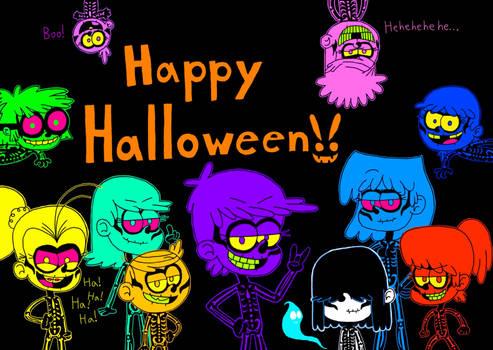 Happy Loud House Halloween!