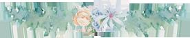 Flower divider for journals