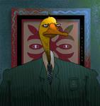 el retrato oculto del pato del banco estado