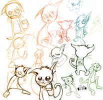 _artos gatos by quick2004