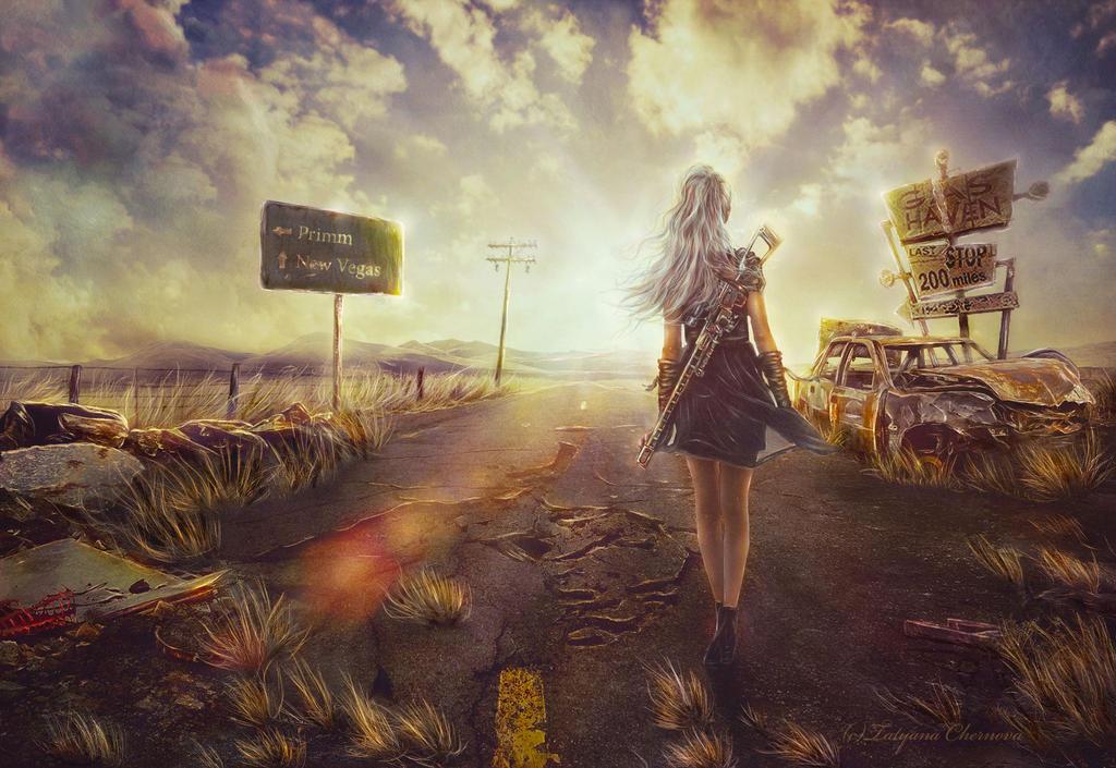 Fallout - Way to New-Vegas by TatyanaChe