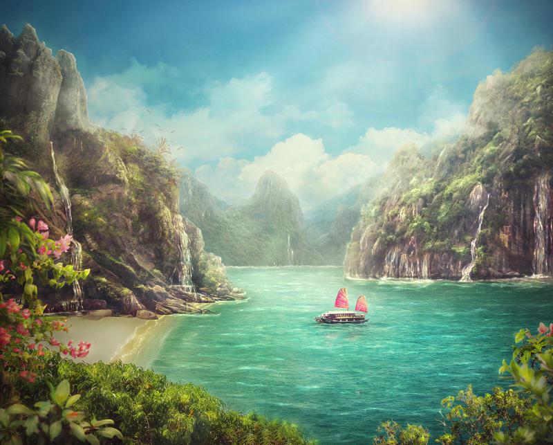 Blue lagoon by TatyanaChe