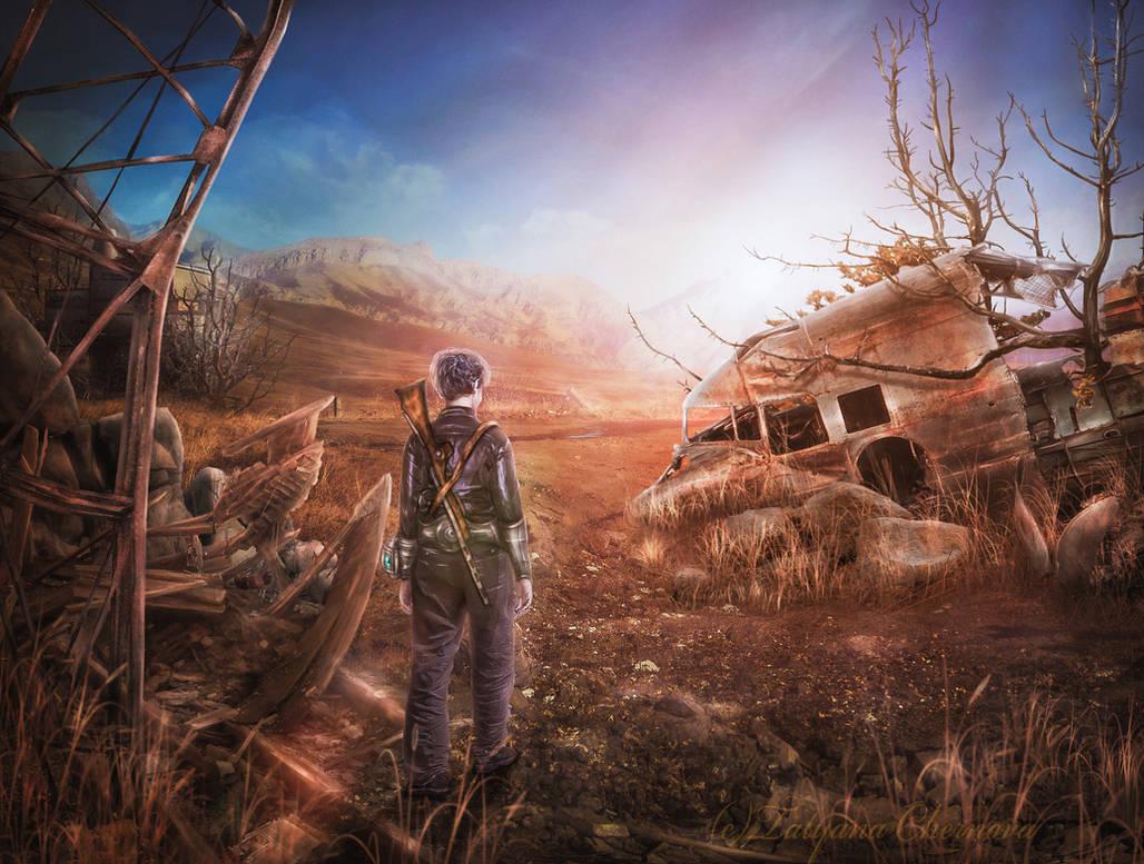 Fallout - dawn of new day by TatyanaChe