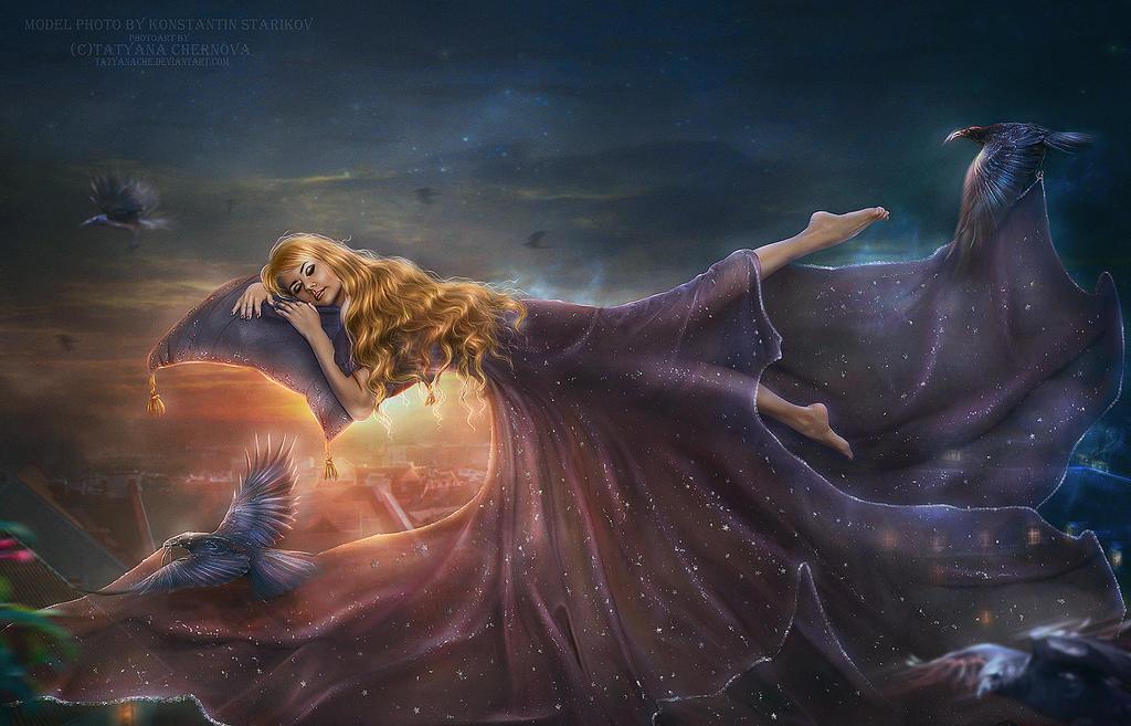 Wings of night by TatyanaChe