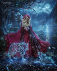 Other fairy tales: Red Riding Hood. Hunting