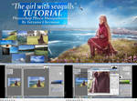 The girl with seagulls Tutorial