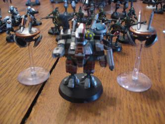 My Tau Battlesuit Commander by jsdragon56