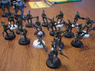 Tau Kroot Squad by jsdragon56