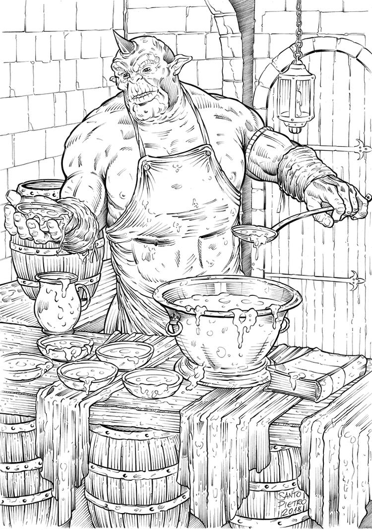 Biff Serving Soup by cdfie1