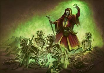 Elven Necromancer by cdfie1