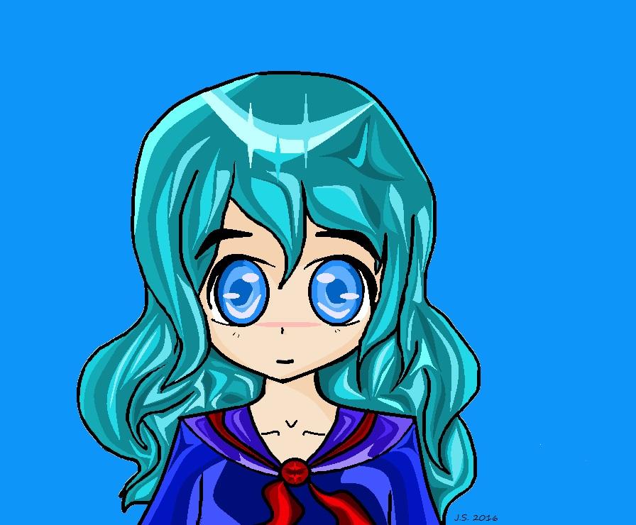 Me Sky Artist by sparklestar14