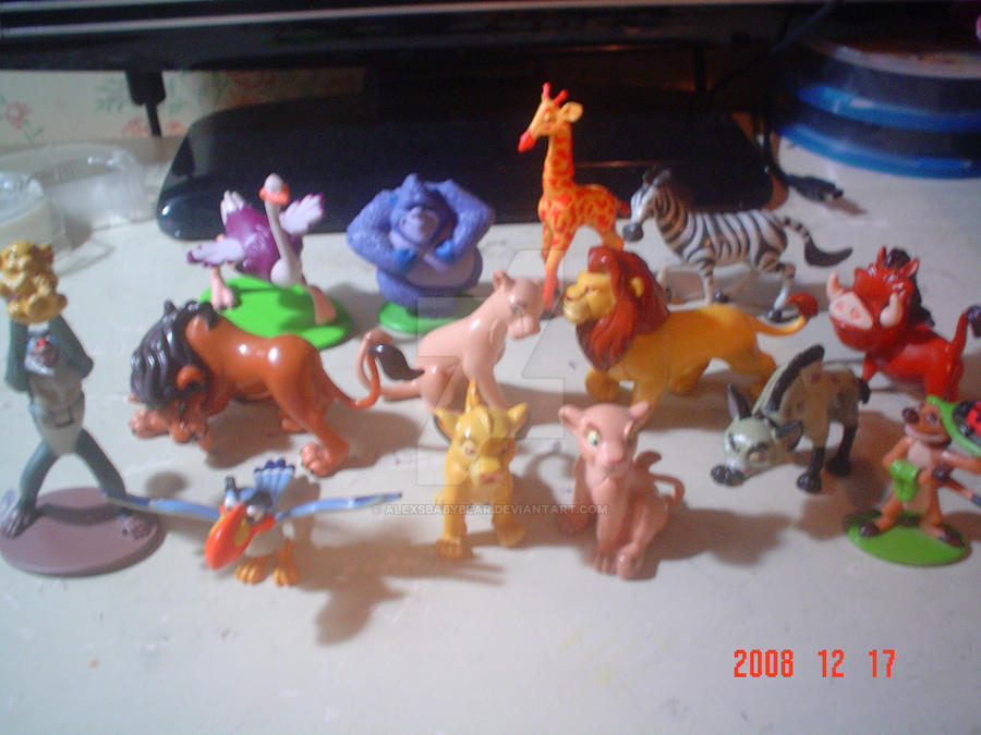 Lion King Zebra Toy
