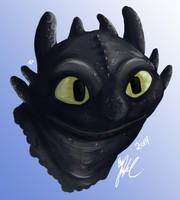 Toothless by AlexsBabyBear