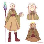 Witchtober Day 20: Elf